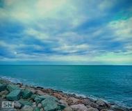 24/07/2021 - Scogli e nuvole