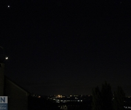 23/05/2020 - Venere sopra la Luna