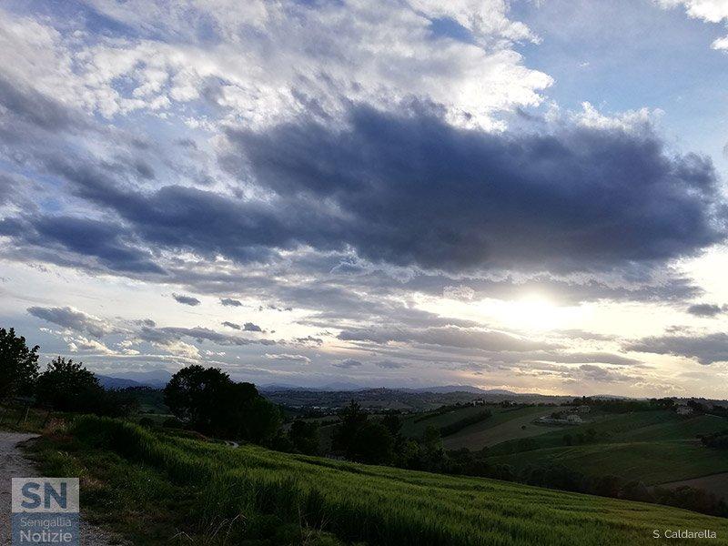 30/05/2021 - Vista dalle colline ostrensi