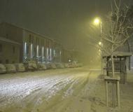 11-12 febbraio 2012: bufera di neve record a Senigallia