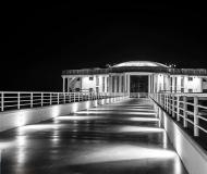 15/08/2017 - Senigallia in B/N: la Rotonda di notte