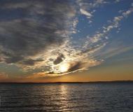 20/04/2017 - Tramonto al lago