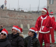 Babbi Natale in SUP a Senigallia: i volti dei partecipanti