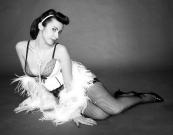 Lady Arabesque: performer senigalliese di Burlesque