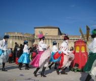 Carnevale 2012 a Senigallia: sfilata dei carri