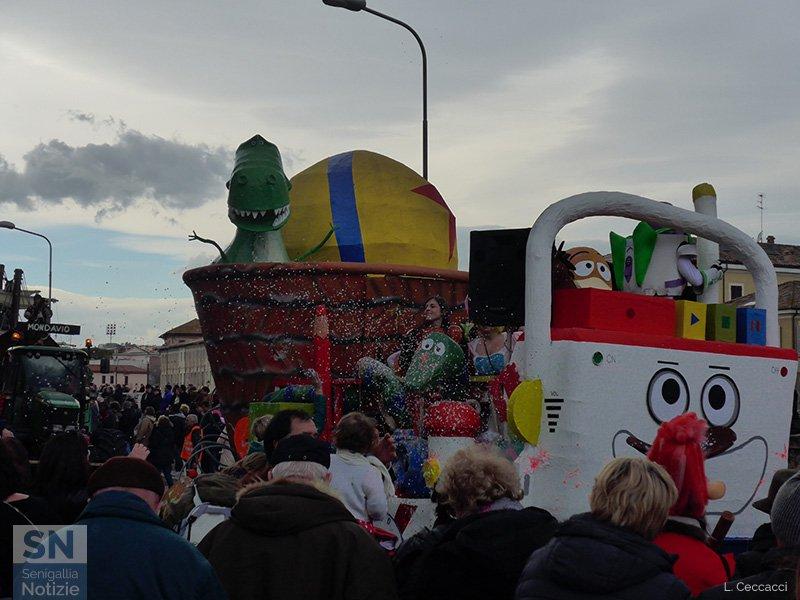 Carnevale 2017 a Senigallia - Sfilata dei carri di Martedì Grasso