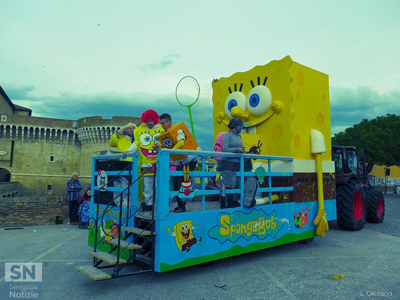 Carnevale 2017 a Senigallia - Sponge Bob