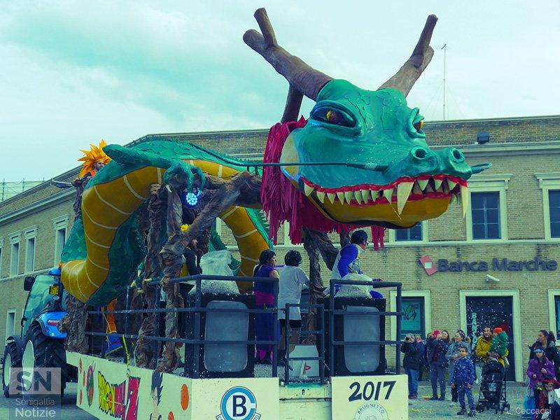 Carnevale 2017 a Senigallia - Dragon Ball