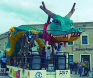 Carnevale 2017 a Senigallia - Dragon Ball
