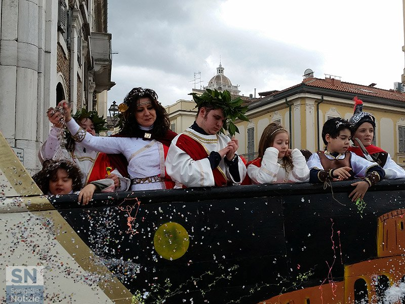 Carnevale 2016 a Senigallia: Antica Roma