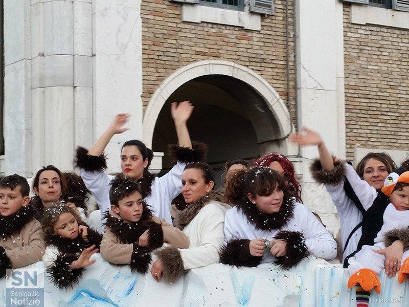 Carnevale 2016 a Senigallia: Polo Nord