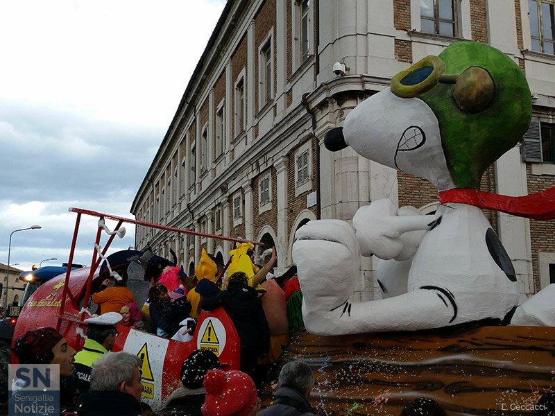 Carnevale 2016 a Senigallia: Barone Rosso