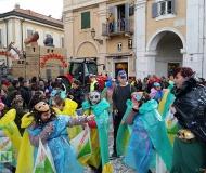Carnevale 2016 a Senigallia: gruppo mascherato