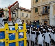 Carnevale 2016 a Senigallia: il gregge