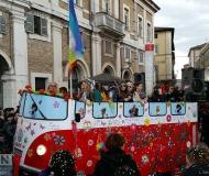 Carnevale 2016 a Senigallia: Peace and Love
