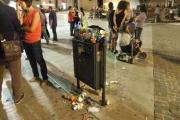 Durante il CaterRaduno servirebbero più bidoni per i rifiuti