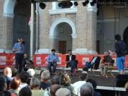 Ospiti sul palco di Caterpillar: Ciacci, Mangialardi, Diamanti, De Vitto