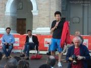 Paolo Maggioni sul palco Senigallia per Caterpillar