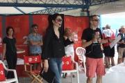 Natascha Lusenti e Filippo Solibello in diretta da Senigallia