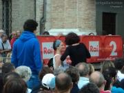 Paolo Maggioni e Sara Zambotti tra il pubblico di Senigallia