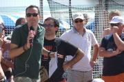 Filippo Solibello in mezzo al pubblico di Caterpillar AM