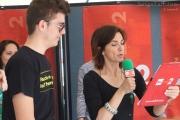 Cinzia Poli in diretta da Senigallia per Caterpillar AM