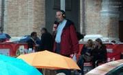 Massimo Cirri sul palco di piazza Roma per Caterpillar