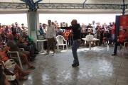 Marco Ardemagni e il pubblico di Caterpillar AM