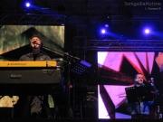 Max Gazzè e i suoi musicisti al CateRaduno di Senigallia