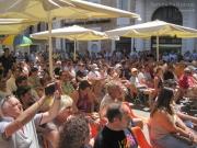 Piazza Roma gremita la mattina di domenica 23 giugno