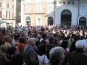 Piazza Roma piena anche per l'incontro sulle malerbe
