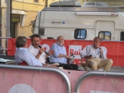 Valentino Mercati, Michele Serra, Carlin Petrini e Massimo Cirri