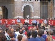 Valentino Mercati, Michele Serra, Carlin Petrini, Massimo Cirri e Zam