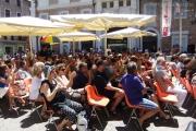 Piazza Roma gremita per Monica Maggioni