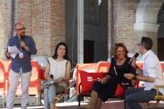 Monica Maggioni con Natascha Lusenti, Filippo Solibello e Marco Ardemagni