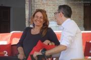 Monica Maggioni con Filippo Solibello