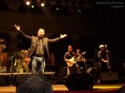 Paolo Belli sul palco del Foro Annonario di Senigallia