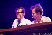 Caterraduno 2015 - Greg e Alex Braga al Foro Annonario con 610 live