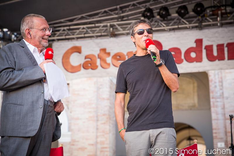 Caterraduno 2015 - Luca Barbarossa in piazza Roma