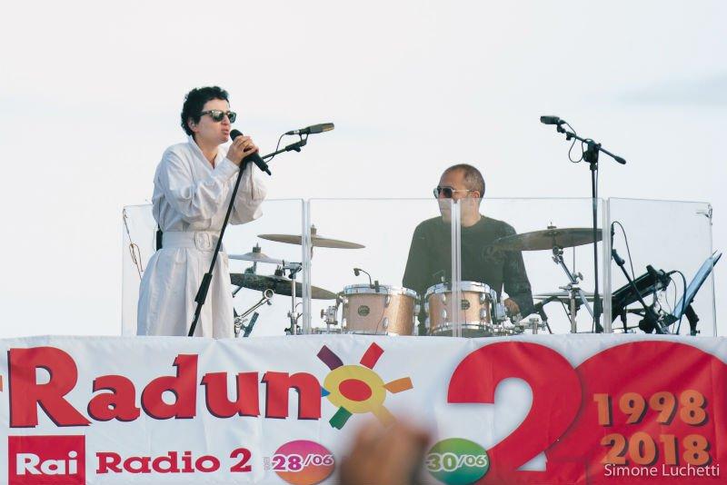 CaterRaduno 2018: Arisa in concerto all'alba
