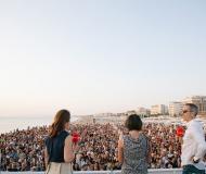 CaterRaduno 2019 - Pubblico per il concerto di Mahmood