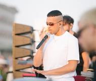 Mahmood in concerto all'alba a Senigallia per il CaterRaduno 2019