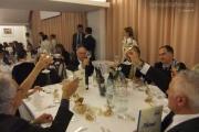 Tavoli alla cena di fine anno scolastico al Panzini di Senigallia