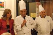 La preside Bitti con i professori del Panzini di Senigallia