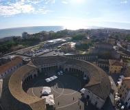 09/12/2016 - Senigallia dall'alto: dal Foro verso sud