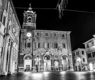 14/12/2016 - Senigallia in B/N: piazza Roma