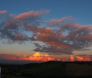 16/12/2018 - Nuvole al tramonto