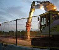 Demolizione del cavalcavia di via Cupetta