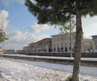 Neve a Senigallia: gli scorci della città
