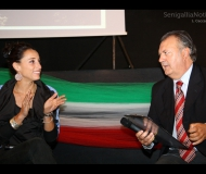 """Elisa Di Francisca insignita del premio \""""La Sciabica\"""" 2012"""